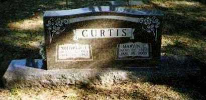 CURTIS, MARVIN C - Pope County, Arkansas | MARVIN C CURTIS - Arkansas Gravestone Photos