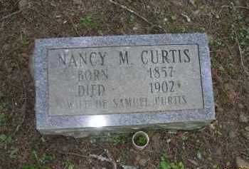 CURTIS, NANCY M - Pope County, Arkansas | NANCY M CURTIS - Arkansas Gravestone Photos