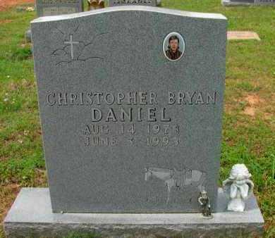 DANIEL, CHRISTOPHER BRYAN - Pope County, Arkansas | CHRISTOPHER BRYAN DANIEL - Arkansas Gravestone Photos