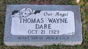 DARE, THOMAS WAYNE - Pope County, Arkansas | THOMAS WAYNE DARE - Arkansas Gravestone Photos