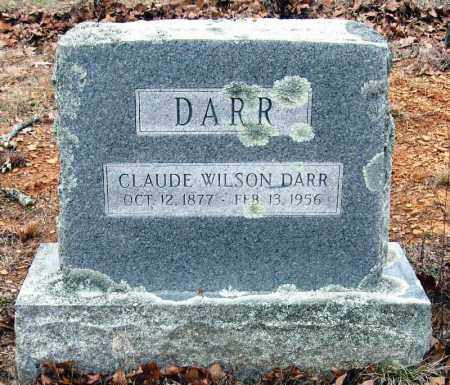 DARR, CLAUDE WILSON - Pope County, Arkansas | CLAUDE WILSON DARR - Arkansas Gravestone Photos