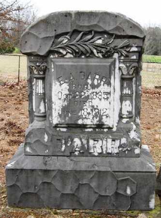 DARR, E  A - Pope County, Arkansas | E  A DARR - Arkansas Gravestone Photos