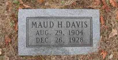 DAVIS, MAUD H. - Pope County, Arkansas | MAUD H. DAVIS - Arkansas Gravestone Photos