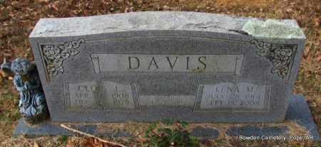 DAVIS, LENA MAXINE - Pope County, Arkansas | LENA MAXINE DAVIS - Arkansas Gravestone Photos