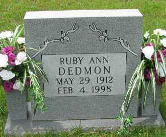 DEDMON, RUBY ANN - Pope County, Arkansas | RUBY ANN DEDMON - Arkansas Gravestone Photos