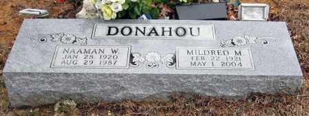 DONAHOU, MILDRED W - Pope County, Arkansas   MILDRED W DONAHOU - Arkansas Gravestone Photos