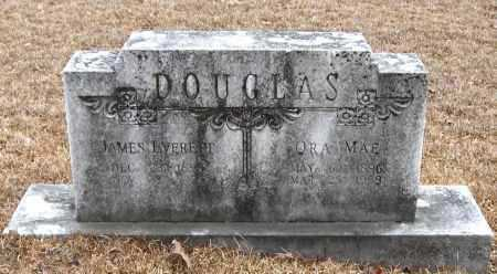DOUGLAS, ORA MAE - Pope County, Arkansas   ORA MAE DOUGLAS - Arkansas Gravestone Photos