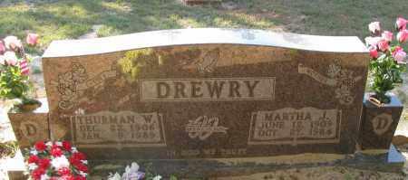 DREWRY, MARTHA J - Pope County, Arkansas | MARTHA J DREWRY - Arkansas Gravestone Photos