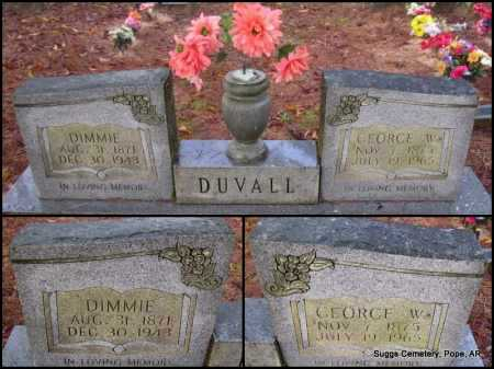 DUVALL, GEORGE W - Pope County, Arkansas   GEORGE W DUVALL - Arkansas Gravestone Photos