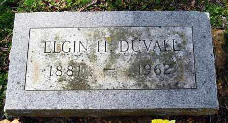 DUVALL, ELGIN H - Pope County, Arkansas | ELGIN H DUVALL - Arkansas Gravestone Photos
