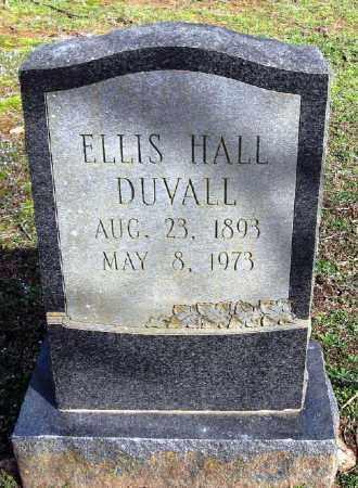 DUVALL, ELLIS HALL - Pope County, Arkansas | ELLIS HALL DUVALL - Arkansas Gravestone Photos