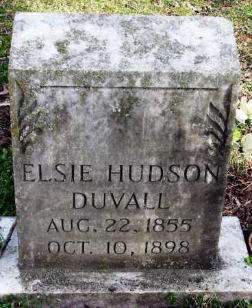 HUDSON DUVALL, ELSIE - Pope County, Arkansas | ELSIE HUDSON DUVALL - Arkansas Gravestone Photos