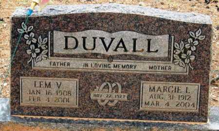 DUVALL, MARGIE L - Pope County, Arkansas | MARGIE L DUVALL - Arkansas Gravestone Photos