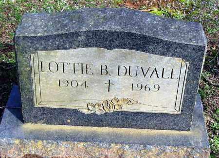 DUVALL, LOTTIE B - Pope County, Arkansas | LOTTIE B DUVALL - Arkansas Gravestone Photos