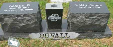 DUVALL, LELAND B - Pope County, Arkansas | LELAND B DUVALL - Arkansas Gravestone Photos