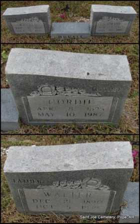 DUVALL, WALTER - Pope County, Arkansas | WALTER DUVALL - Arkansas Gravestone Photos