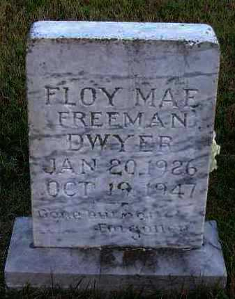 FREEMAN DWYER, FLOY MAE - Pope County, Arkansas | FLOY MAE FREEMAN DWYER - Arkansas Gravestone Photos