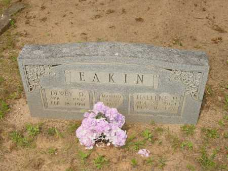 EAKIN, DEWEY D. - Pope County, Arkansas | DEWEY D. EAKIN - Arkansas Gravestone Photos