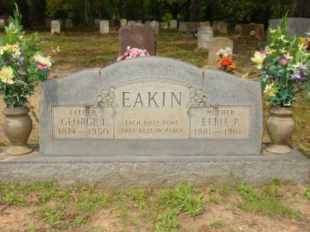 EAKIN, EFFIE - Pope County, Arkansas   EFFIE EAKIN - Arkansas Gravestone Photos