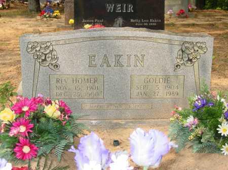 BROWN EAKIN, GOLDIE REBECCA - Pope County, Arkansas   GOLDIE REBECCA BROWN EAKIN - Arkansas Gravestone Photos