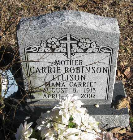 ELLISON, CARRIE - Pope County, Arkansas | CARRIE ELLISON - Arkansas Gravestone Photos