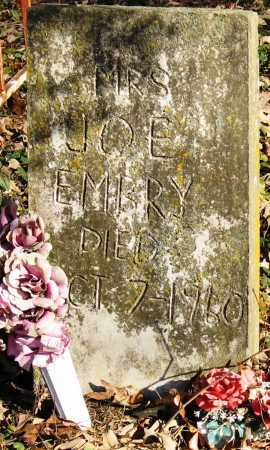 EMBRY, MRS JOE - Pope County, Arkansas | MRS JOE EMBRY - Arkansas Gravestone Photos
