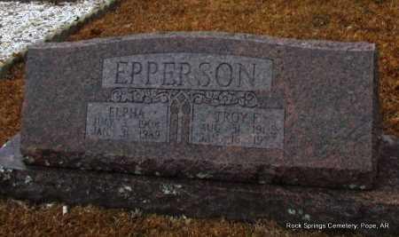 EPPERSON, ELPHA - Pope County, Arkansas | ELPHA EPPERSON - Arkansas Gravestone Photos