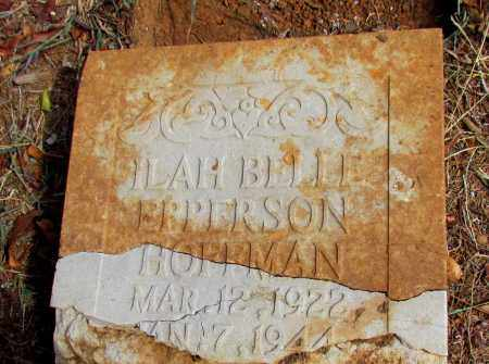 EPPERSON, ILAH BELLE (ORIGINAL STONE) - Pope County, Arkansas | ILAH BELLE (ORIGINAL STONE) EPPERSON - Arkansas Gravestone Photos