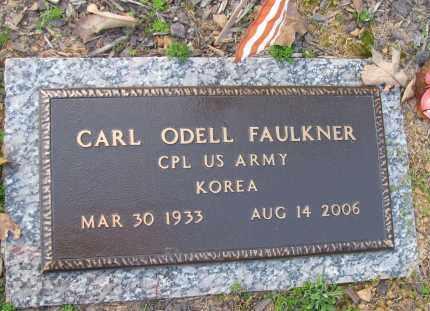 FAULKNER (VETERAN KOR), CARL ODELL - Pope County, Arkansas | CARL ODELL FAULKNER (VETERAN KOR) - Arkansas Gravestone Photos