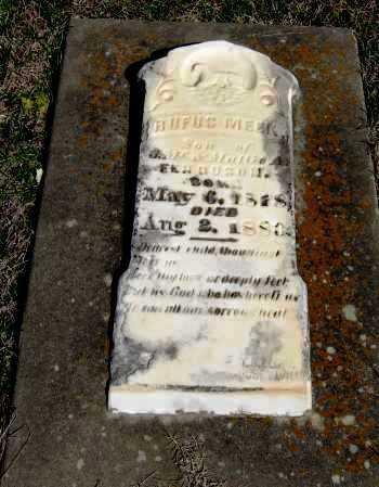 FERGUSON, RUFUS MEEK - Pope County, Arkansas   RUFUS MEEK FERGUSON - Arkansas Gravestone Photos