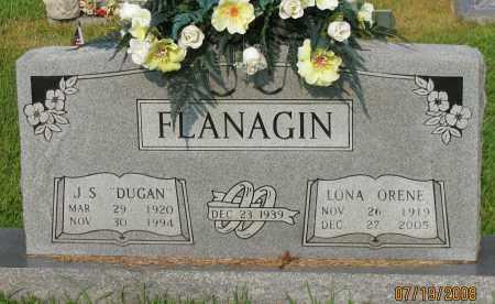 FLANAGIN, LONA ORENE - Pope County, Arkansas | LONA ORENE FLANAGIN - Arkansas Gravestone Photos