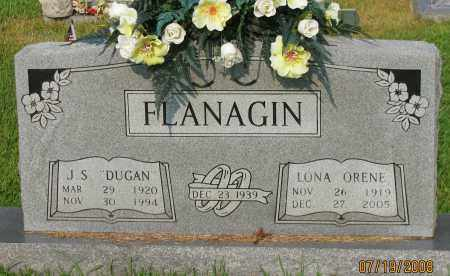 "FLANAGIN, J S ""DUGAN"" - Pope County, Arkansas 