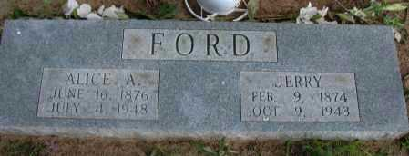 FORD, JERRY - Pope County, Arkansas | JERRY FORD - Arkansas Gravestone Photos