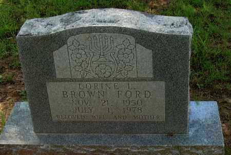 FORD, LORINE L - Pope County, Arkansas | LORINE L FORD - Arkansas Gravestone Photos