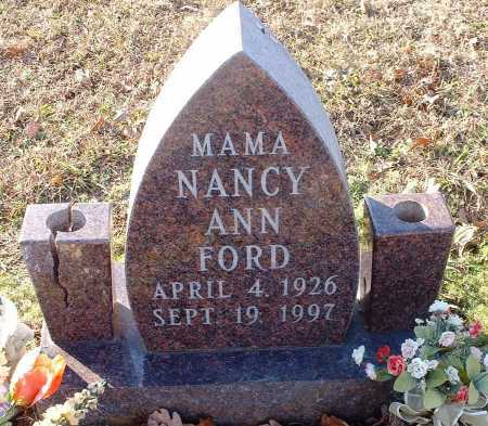 FORD, NANCY ANN - Pope County, Arkansas | NANCY ANN FORD - Arkansas Gravestone Photos
