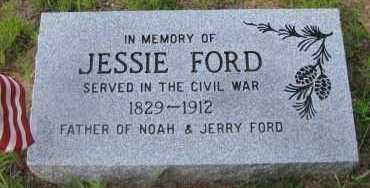 FORD (VETERAN UNION), JESSIE M - Pope County, Arkansas | JESSIE M FORD (VETERAN UNION) - Arkansas Gravestone Photos
