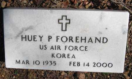 FOREHAND  (VETERAN KOR), HUEY P - Pope County, Arkansas | HUEY P FOREHAND  (VETERAN KOR) - Arkansas Gravestone Photos
