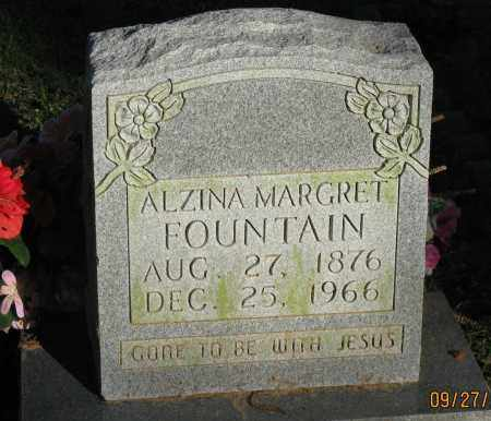 FOUNTAIN, ALZINA MARGARET - Pope County, Arkansas | ALZINA MARGARET FOUNTAIN - Arkansas Gravestone Photos