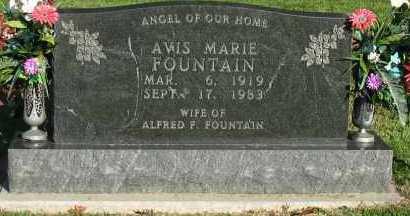 FOUNTAIN, AVIS MARIE - Pope County, Arkansas   AVIS MARIE FOUNTAIN - Arkansas Gravestone Photos