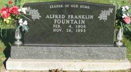 FOUNTAIN, ALFRED FRANKLIN - Pope County, Arkansas   ALFRED FRANKLIN FOUNTAIN - Arkansas Gravestone Photos
