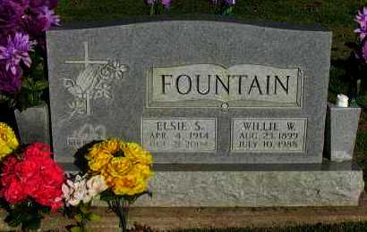 FOUNTAIN, ELSIE S - Pope County, Arkansas | ELSIE S FOUNTAIN - Arkansas Gravestone Photos