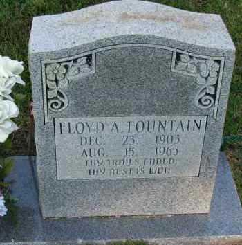 FOUNTAIN, FLOYD A - Pope County, Arkansas | FLOYD A FOUNTAIN - Arkansas Gravestone Photos