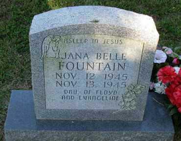 FOUNTAIN, JANA BELLE - Pope County, Arkansas   JANA BELLE FOUNTAIN - Arkansas Gravestone Photos