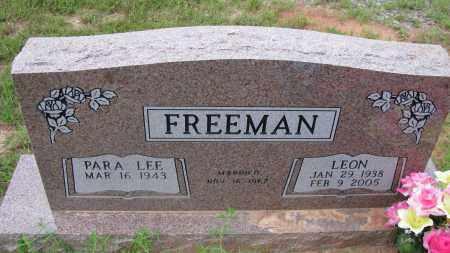 FREEMAN, LEON - Pope County, Arkansas   LEON FREEMAN - Arkansas Gravestone Photos