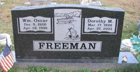 FREEMAN, WM. OSCAR - Pope County, Arkansas | WM. OSCAR FREEMAN - Arkansas Gravestone Photos
