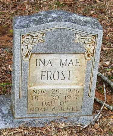 FROST, INA MAE - Pope County, Arkansas | INA MAE FROST - Arkansas Gravestone Photos