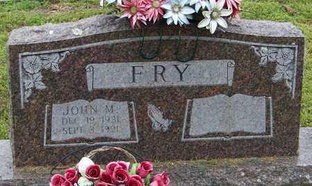 FRY, JOHN M - Pope County, Arkansas   JOHN M FRY - Arkansas Gravestone Photos