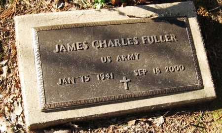 FULLER  (VETERAN), JAMES CHARLES - Pope County, Arkansas | JAMES CHARLES FULLER  (VETERAN) - Arkansas Gravestone Photos