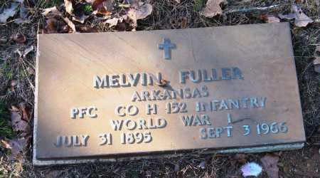 FULLER  (VETERAN WWI), MELVIN - Pope County, Arkansas | MELVIN FULLER  (VETERAN WWI) - Arkansas Gravestone Photos