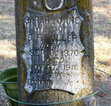 FULLER, SARAH JANE - Pope County, Arkansas | SARAH JANE FULLER - Arkansas Gravestone Photos